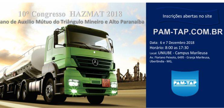 10° Congresso HAZMAT 2018