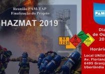 Reunião PAM-TAP Finalização Projeto HAZMAT 2019