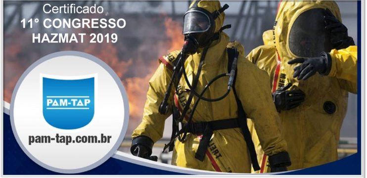 Certificado 11° Congresso HAZMAT 2019