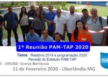 Primeira Reunião PAM-TAP 2020