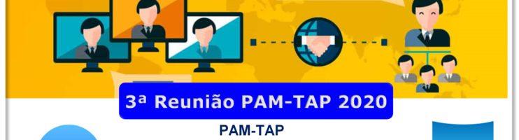 3ª Reunião PAM-TAP 2020 Online