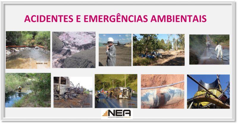 Acidentes e Emergências Ambientais