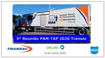 5ª Reunião PAM-TAP 2020 Online TRANSAC