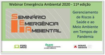 Webinar Emergência Ambiental – 11ª edição 23 e 24 de junho 2020