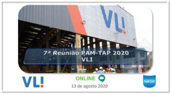7ª Reunião PAM-TAP 2020 Online VLI